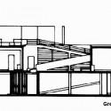 Villa Savoye Section   169  greatbuildings comVilla Savoye Section