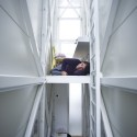 Inside The Keret House - the World's Skinniest House - by Jakub Szczesny (6) © Polish Modern Art Foundation / Bartek Warzecha