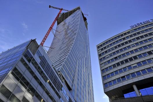 In Progress Zlota 44 Daniel Libeskind Archdaily
