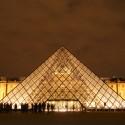 Spotlight: I.M. Pei Le Grand Louvre © Greg Kristo. ImageLe Grande Louvre