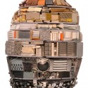 Huevos de Pascua diseñados por Arquitectos Egg by Sir Nicholas Grimshaw. Image Courtesy of Faberge's Big Egg Hunt