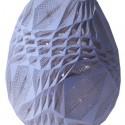 Huevos de Pascua diseñados por Arquitectos Egg by OVO / fourfoursixsix. Image Courtesy of Faberge's Big Egg Hunt