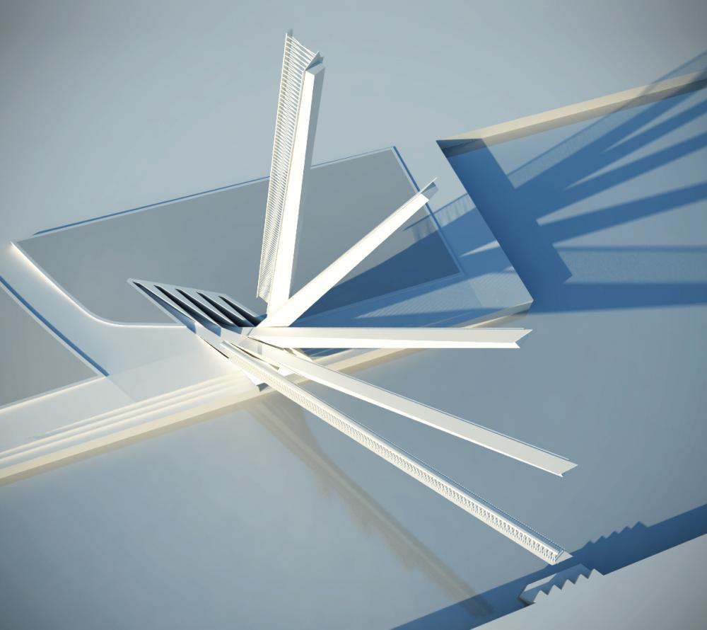 طراحی پل متحرک پدینگتون