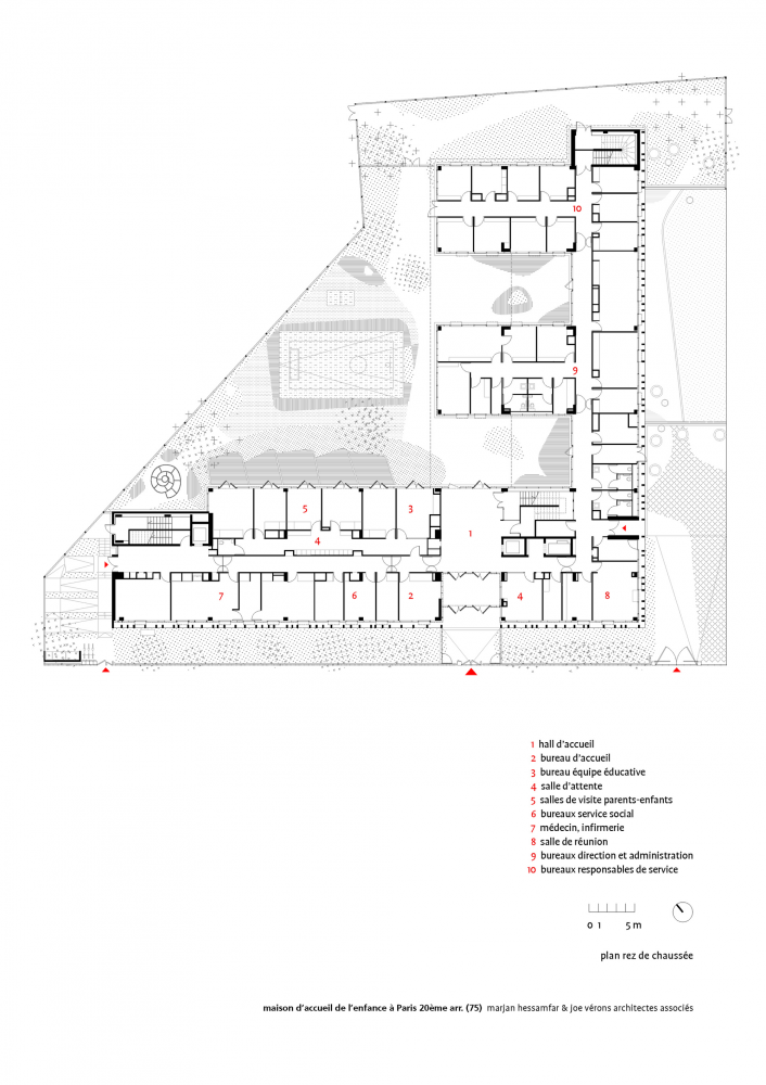طراحی مرکز رفاه کودکان و نوجوانان مرجان حسام فر