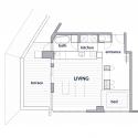 Tokyo Loft / G architects Floor Plan