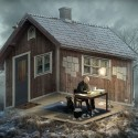 "8 Mind Bending Optical Illusions by Eric Johansson ""The Architect"". Image Courtesy of Erik Johansson"