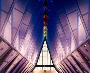 "Walter Netsch: The ""Radical Mind"" That Designed SOM's Air Force Academy Chapel"