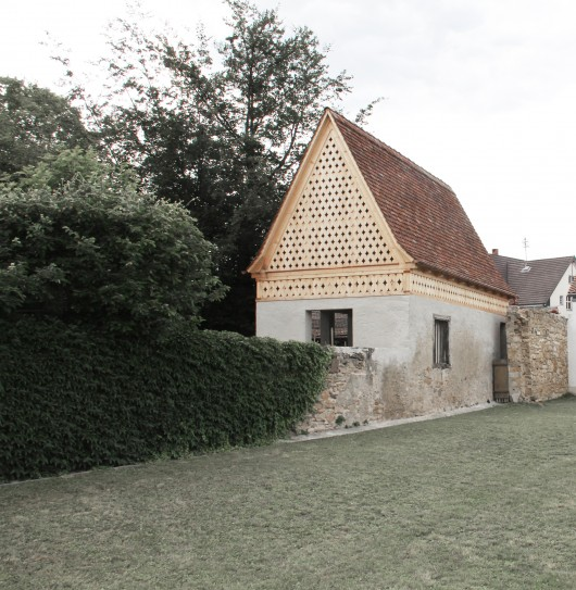 Garden house v csey schmidt architekten archdaily - Schmidt architekten ...