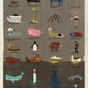 "ARCHIZOO: Illustrated Architectural ""Animals"" from Federico Babina © Federico Babina"