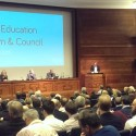 RIBA Agrees Upon Major Changes To UK Architectural Education Stephen Hodder addresses the RIBA Council and invited guests. Image Courtesy of RIBA