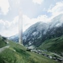 Morphosis Unveils Plans for 381-Meter-Tall Skyscraper in Vals © Morphosis Architects