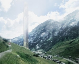 Morphosis Unveils Plans for 381-Meter-Tall Skyscraper in Vals