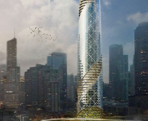 """6 Ways to Repurpose the Chicago Spire """"Hole"""""""