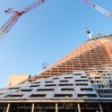 First Look Inside BIG's W57 Manhattan Pyramid South Facade. Image © Field Condition