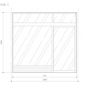 Smoking Room Grand Tree Musashikosugi / Hiroyuki Ogawa Architects Elevation