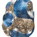 Huevos de Pascua diseñados por Arquitectos Egg by Marc Fornes & Theveryman. Image Courtesy of Faberge's Big Egg Hunt