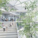 Sou Fujimoto-Led Team Selected to Design Ecole Polytechnique Learning Centre in Paris Courtesy of Sou Fujimoto Architects, Manal Rachdi OXO Architects and Nicolas Laisné Associates