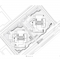 Harumi Residential Tower  / Richard Meier & Partners Architects Ground Floor Plan
