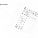 Bob Champion Building / HawkinsBrown First Floor Plan