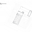Bob Champion Building / HawkinsBrown Second Floor Plan