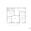 Yokoi Dental Clinic / iks design + msd-office Second Floor Plan