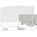 Burwood Highway Frontage Building / Woods Bagot West Elevation