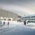 Henning Larsen Designs New Branch of Swedish National Museum Courtyard. Image © Henning Larsen Architects