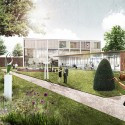 Marc Koehler Wins Competition to Design Edegem Community Center and Library Courtesy of Marc Koehler Architects