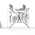 3 Student-Designed Pavilions from DS10 to be Built at Burning Man Section: Bismuth Bivouac / Jon Leung  3 Student-Designed Pavilions from DS10 to be Built at Burning Man 55395faee58ece9fb600018c 3 student designed pavilions from ds10 to be built at burning man section model 1 125x125