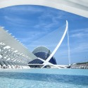 "Santiago Calatrava's City of Arts and Sciences Stars in Disney's ""Tomorrowland"" © Flickr CC User Tim Snell"