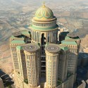 Mecca to Build the World's Largest Hotel Abraj Kudai hotel . Image © Dar Al-Handasah via The Guardian