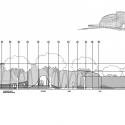 Sandibe Okavango Safari Lodge / Nicholas Plewman Arquitectos en asociación con Michaelis Boyd Associates Elevación