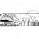 Sandibe Okavango Safari Lodge / Nicholas Plewman Arquitectos en asociación con Michaelis Boyd Associates Sección
