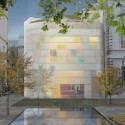 Steven Holl Breaks Ground on Maggie's Centre Barts in London © Steven Holl Architects  Steven Holl Breaks Ground on Maggie's Centre Barts in London 55787b5ce58eced628000026 steven holl breaks ground on maggie s centre barts in london sha 02 maggies 15 06 08 pool exterior 125x125